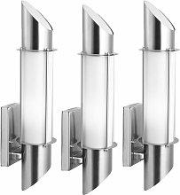 Conjunto de acero inoxidable 3 diseño lámpara de