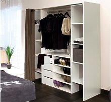 Conjunto de armario vestidor + mueble EMERIC -