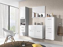 Conjunto de baño CLAUDIA - Muebles + lavabo +