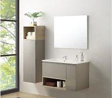 Conjunto de baño KLADE - mueble con lavabo +