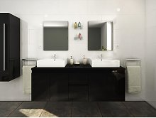 Conjunto de baño LAVITA II - Mueble + doble