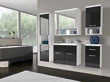 Conjunto de baño LUISA - Muebles + espejo +