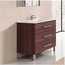 Conjunto de Baño mueble + encimera INDUS Fresno