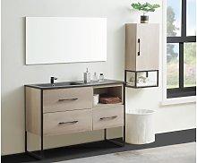 Conjunto de baño SELANE - mueble con lavabo +