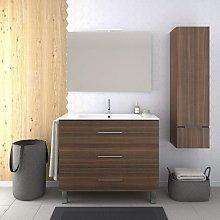 Conjunto de Baño VÁLI Mueble con tres cajones,