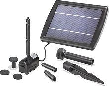 Conjunto de bomba solar para estanque de jardín