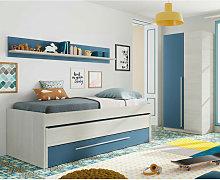 Conjunto De Dormitorio Juvenil Ancho: Cama: 200 Cm