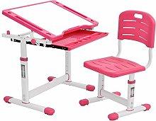 Conjunto de escritorio y silla para niños,