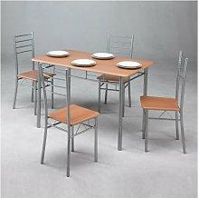 Conjunto de mesa + 4 sillas