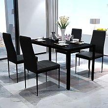 Conjunto de mesa y sillas de comedor 5 piezas