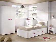 Conjunto habitación Juvenil incluye; Cama ,