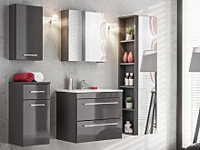 Conjunto MOLLY - muebles de baño - gris