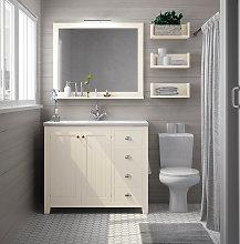 Conjunto mueble de baño Avila Dos Colonial con