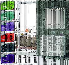 Conjunto Mueble de Baño CLAUDIA 80 CM Blanco,
