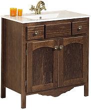 Conjunto mueble de baño con lavabo de Bruntec
