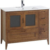 Conjunto mueble de baño con lavabo León 100 cm