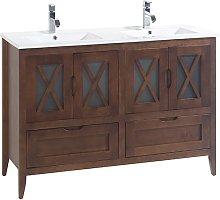 Conjunto mueble de baño de Bruntec con lavabo