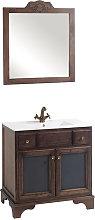 Conjunto mueble de baño de Bruntec con lavabo y