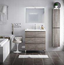Conjunto mueble de baño de fondo reducido 39 cm