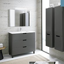 Conjunto Mueble de baño de Inve Corvo con patas 3