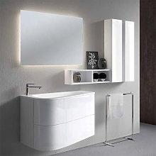 Conjunto Mueble de baño de Inve Loop 1 suspendido
