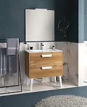 Conjunto Mueble de baño de Inve Sakai 4 con patas