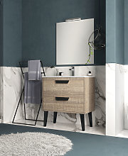 Conjunto Mueble de baño de Inve Sakai 7 con patas