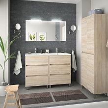Conjunto mueble de baño de Salgar Arenys 3 con
