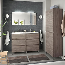 Conjunto mueble de baño de Salgar Arenys 4 con
