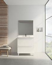 Conjunto mueble de baño de Visobath Sora de 80cm
