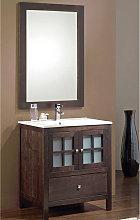 Conjunto mueble de baño Duna + lavabo + espejo