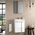Conjunto mueble de baño fondo reducido 28 cm
