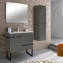 Conjunto mueble de baño Inve Borax con patas 2