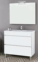 Conjunto mueble de baño Inve Elison con patas 2