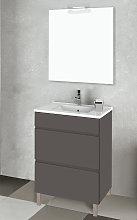 Conjunto mueble de baño Inve Elison II con patas
