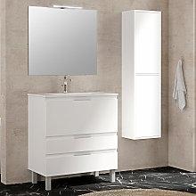 Conjunto mueble de baño Inve Royal con patas 3