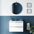 Conjunto mueble de baño Mio suspendido 2 cajones