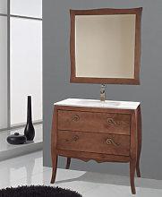 Conjunto mueble de baño Mozart + lavabo + espejo