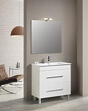 Conjunto Mueble de Baño NEREA 80 CM Blanco 2