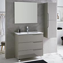 Conjunto mueble de baño Sanchís Siena con patas