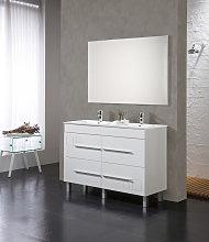Conjunto Mueble de Baño Tania 120 cm Blanco - 4
