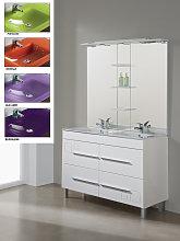 Conjunto Mueble de Baño Tania 120 cm blanco,