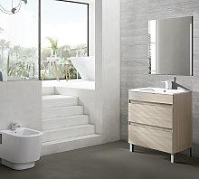 Conjunto mueble de baño Viso Bath Box con patas 2
