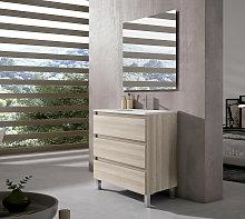 Conjunto mueble de baño Viso Bath Box con patas 3