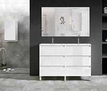 Conjunto mueble de baño Viso Bath Box con patas 6