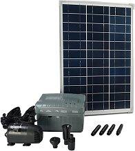 Conjunto SolarMax 1000 con panel solar, bomba y