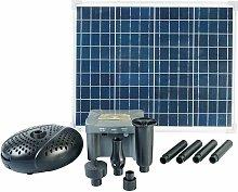 Conjunto SolarMax 2500 con panel solar, bomba y