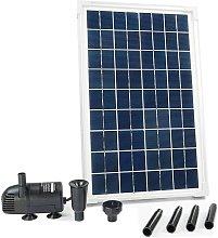 Conjunto SolarMax 600 con panel solar y bomba