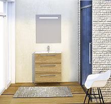 Conjunto Yoga de mueble de ba?o con espejo y