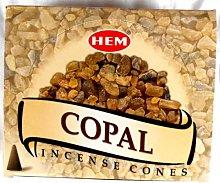 Conos de incienso HEM COPAL incense cones 12 x 10